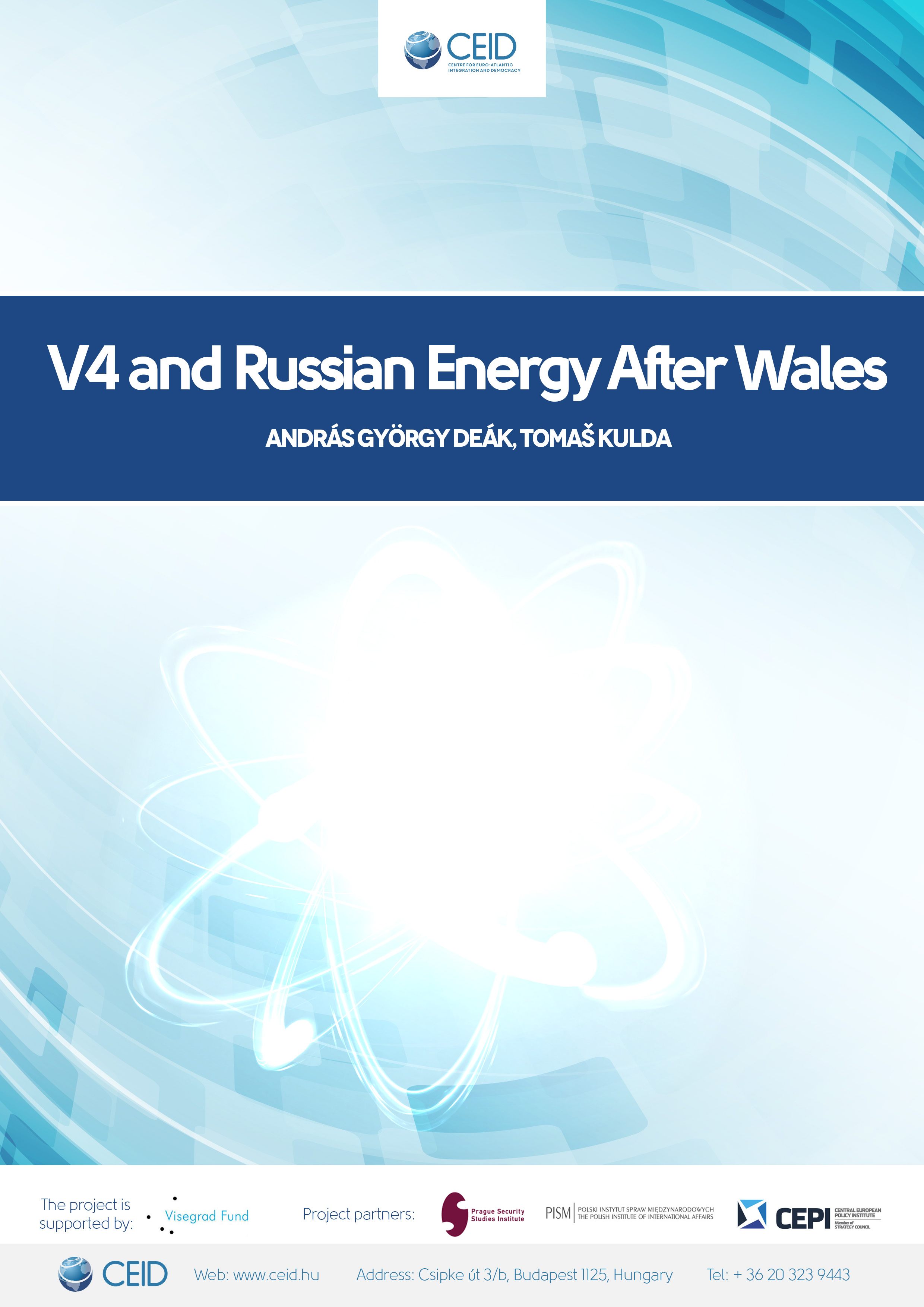 V4 and Russian Energy After Wales